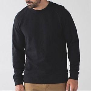 lululemon Charcoal Gray pullover Sweatshirt EUC